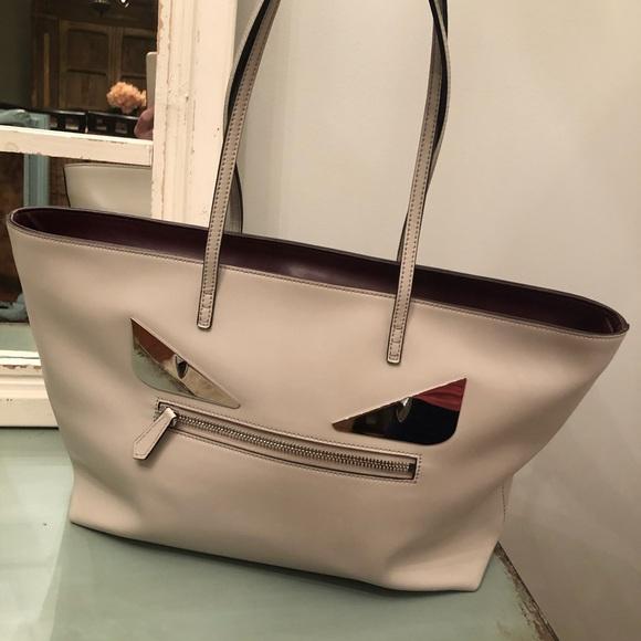 Fendi Handbags - Authentic Fendi Monster Eyes bag